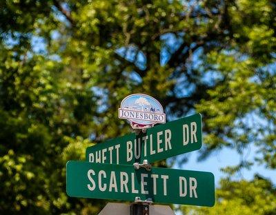 corner of rhett butler and scarlett