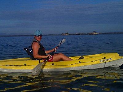 kayaking in Cuba
