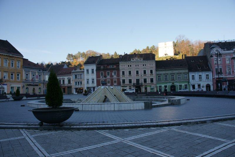 Brasov fountain