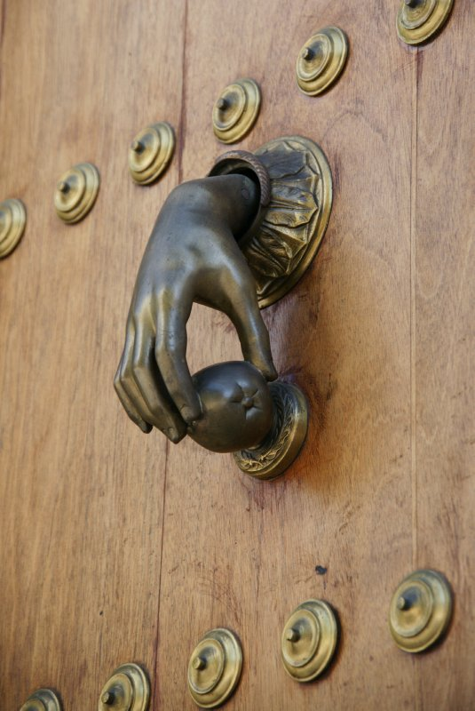 Jerez door knocker