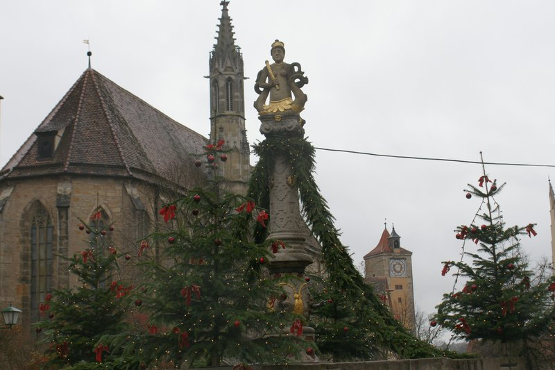 Rhotenburg fountain