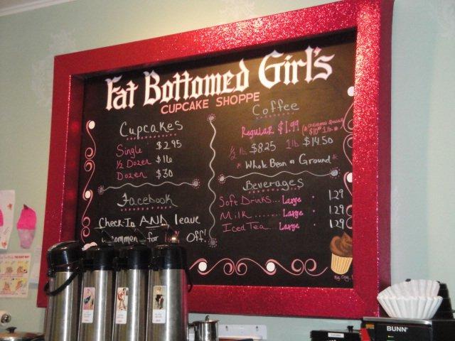 Fat Bottom Girls Cupcake Shop