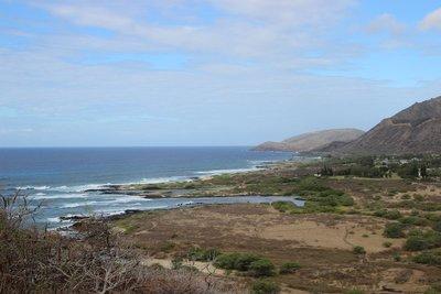 overlooking Makapu'u trail