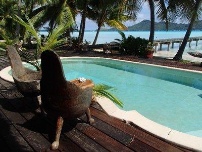 pool at hotel