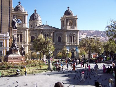 La Paz and the Spanish influence