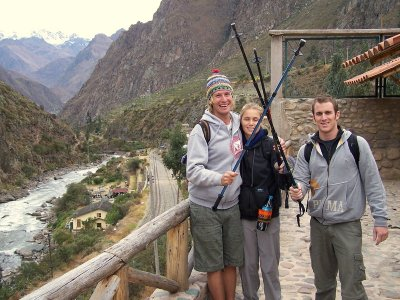 Eager to conquer the Inca Trail