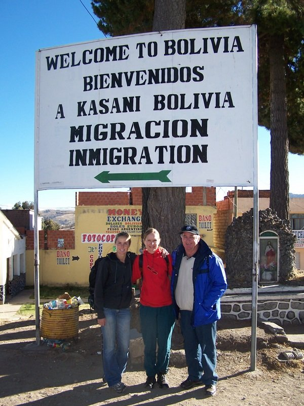 Peru - Bolivia Border Crossing