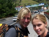 Colombia-Ecuador Border Crossing