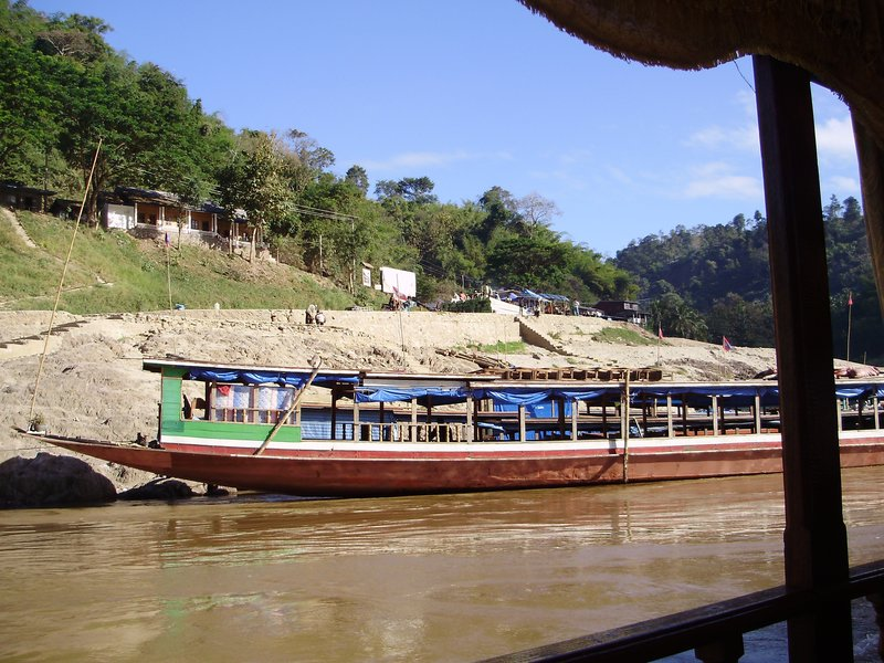 slow boat down Mekong