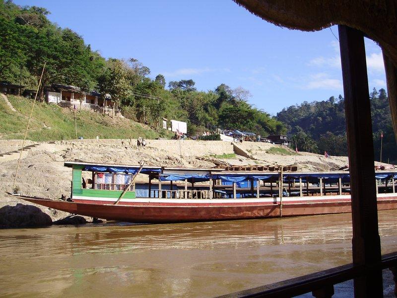 slow boat down Mekong