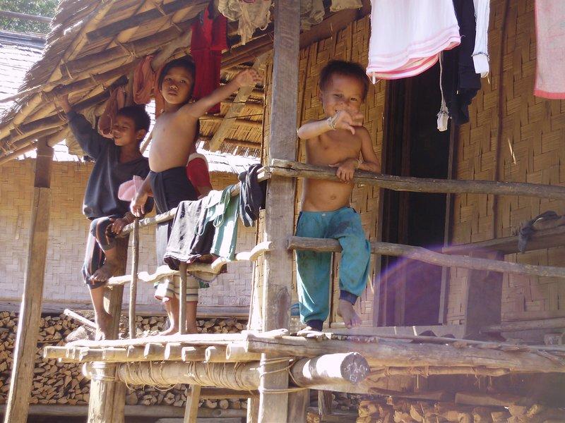 village nr Vang Viang