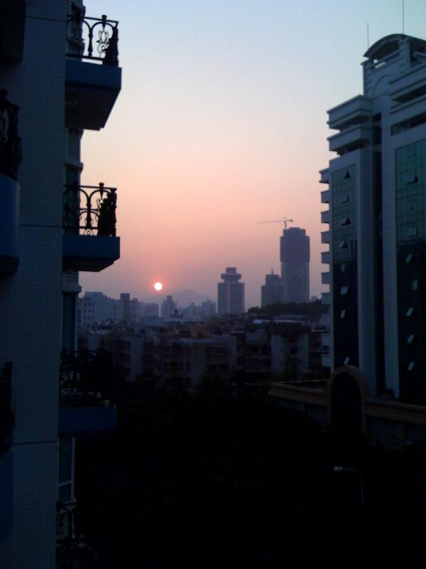 Zhuhai sunset