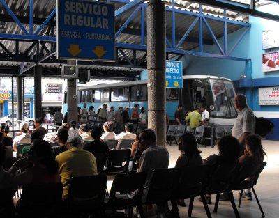 SAN RAMON bus terminal