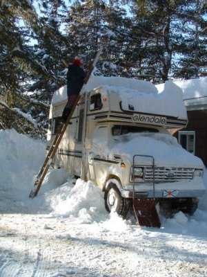 FLORIDA De-icing the Motorhome