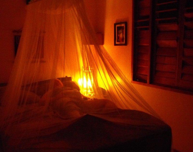 ACCOMMODATION LA GUARANA CABINS mosquito netting