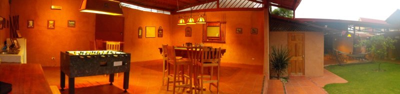 ACCOMODATION TURRIALBA B&B games room