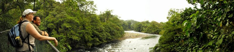 SARAPIQUI upriver panorama
