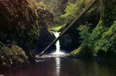 waterfall at eagle creek