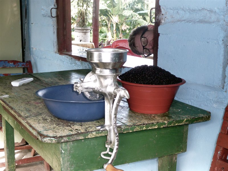 coffee in ometepe
