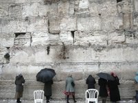 western wall of jerusalem