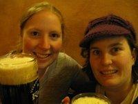 Czeching out a Czech beer in Prague