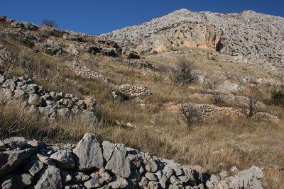 above Strn, descent of sveti petar hike