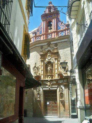 Little Alley Church in Seville