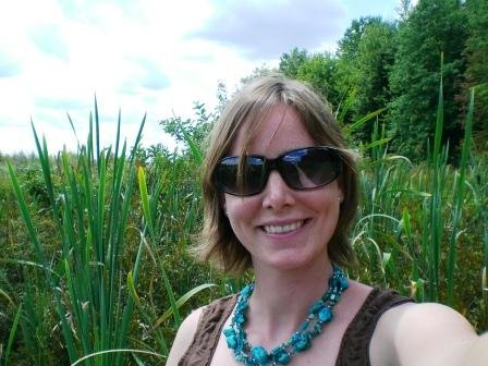 Rachel in the Bog scenery