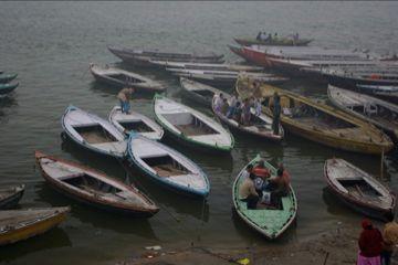 boats at varanasi 2