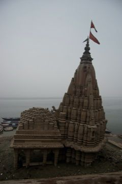sunken temple at varanasi