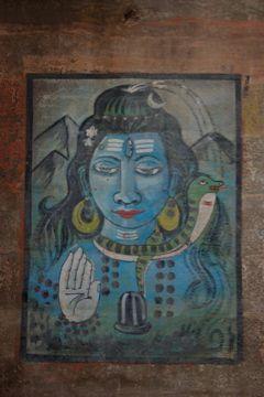 wall painting varanasi 3