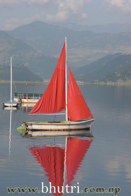 A Boat in Fewa Lake.jpg (13)