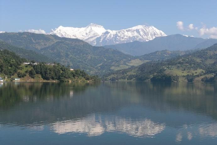Begnas Lake in Pokhara