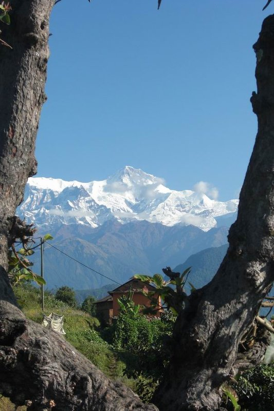 Mountain View from Pokhara