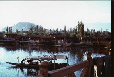 Houseboats on Dal Lake