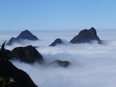 Fansipan mountain, Vietnam