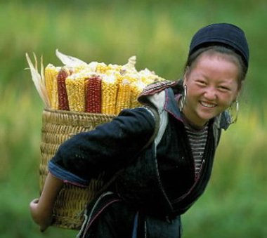 Ethnic girl, Vietnam