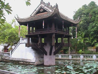 One Pillar pagoda, Hanoi, Vietnam