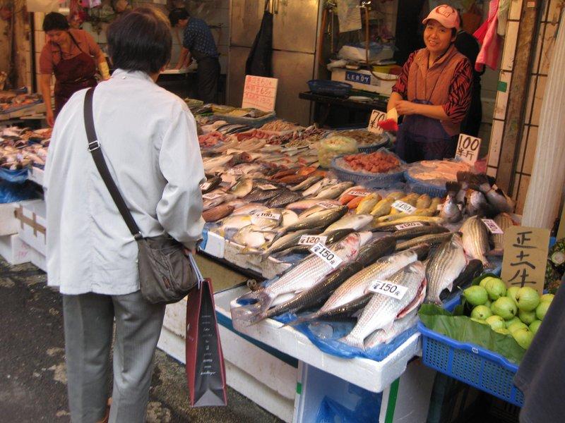 Fish vendor