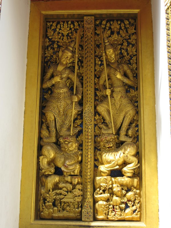 Door at Royal Palace in Bangkok