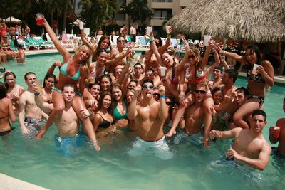 Acapulco Spring Break Pool Party