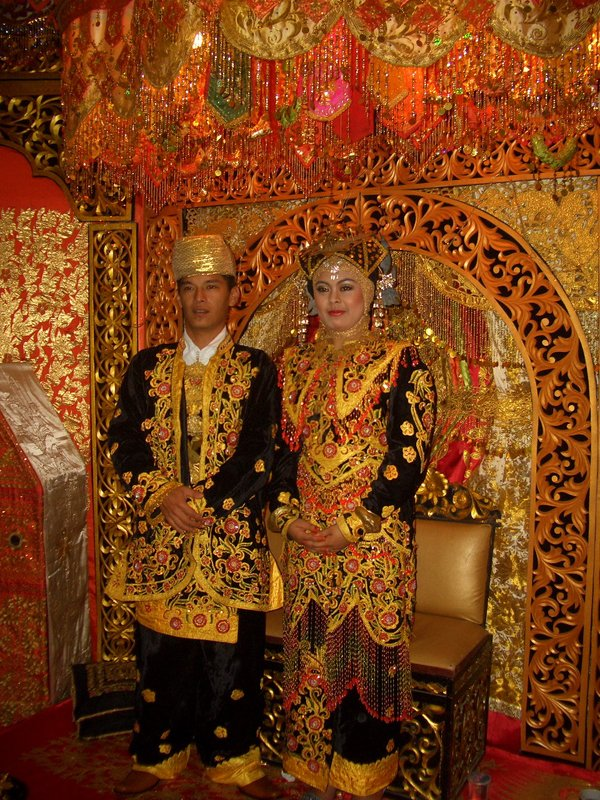Indonesian wedding, Sumatra