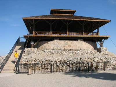 The watchtower at the Yuma Territorial Prison