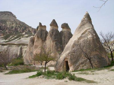 Cappadocia storage rooms