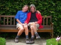 Tom and Els at Garten der  sinne