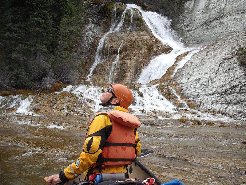 Kootenay river Pedly falls