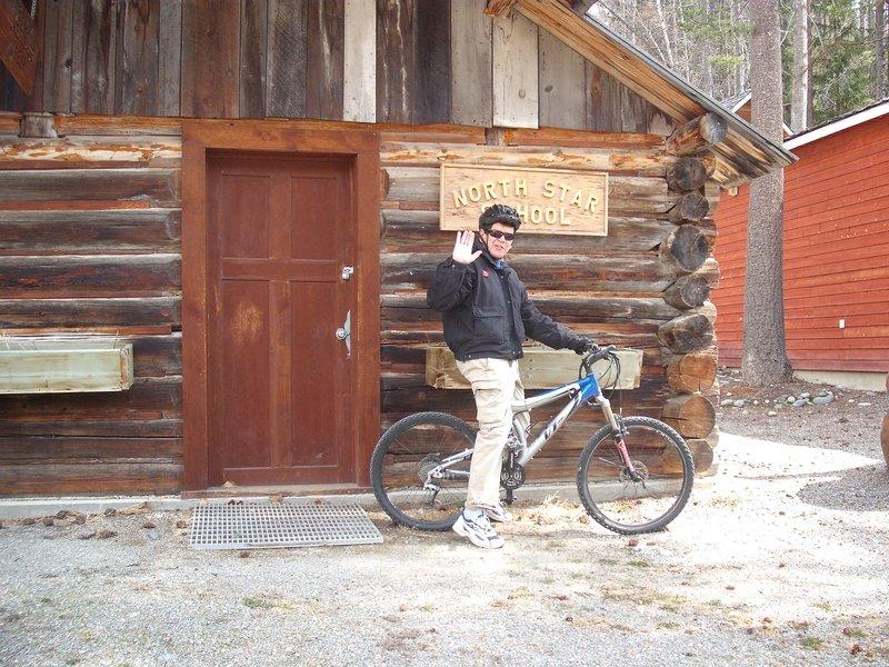 Mountain bike man
