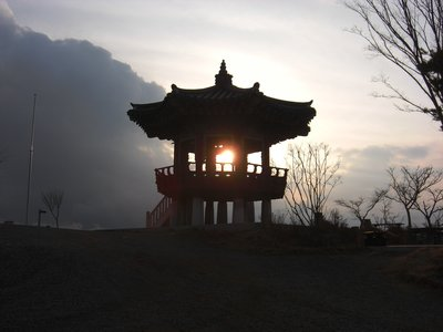 Gazebo on Yam Po Mountain