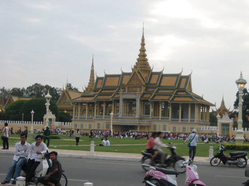 Grand Palace in Phnom Penh