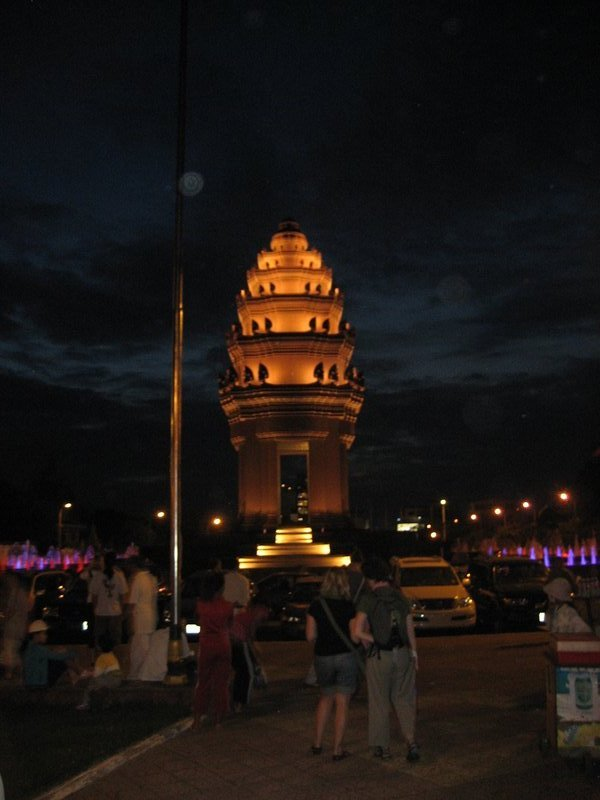 Independence memorial in Phnom Penh